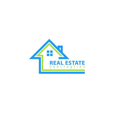 Real estate. Vector logo template Logo