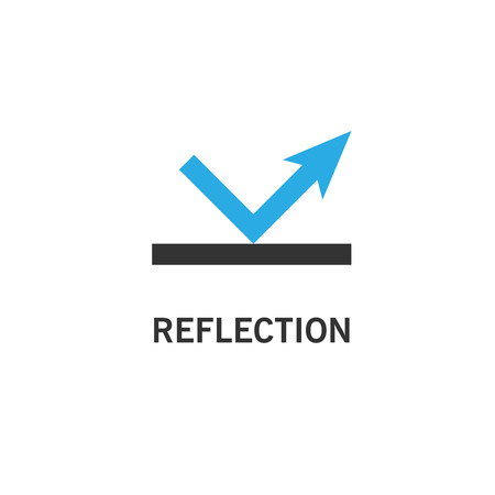 Reflection icon simple