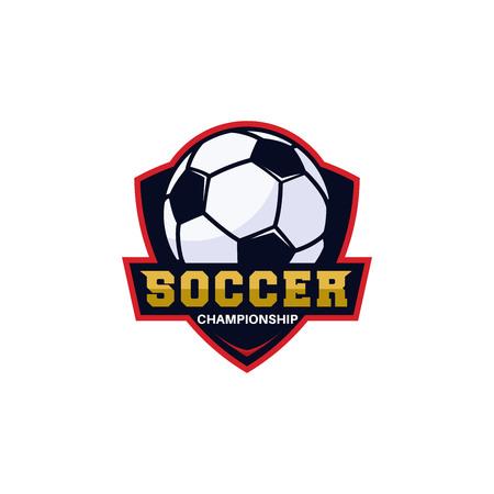 Football club bagde, soccer championship , Football tournament. Vector logo template Logo