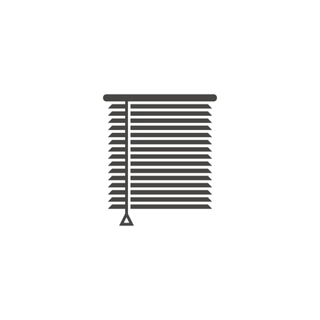 Louvers sign icon. Window blinds or jalousie symbol Illustration