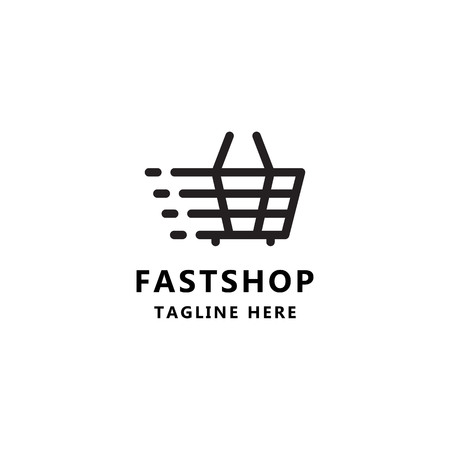Fast shop Icon logo