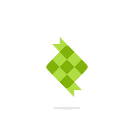 Ketupat icon illustration Stok Fotoğraf - 108330122