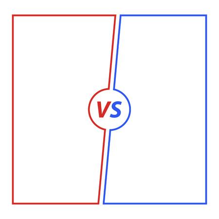 Versus Background illustration 向量圖像