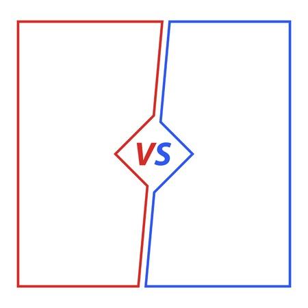 Versus Background illustration Illustration
