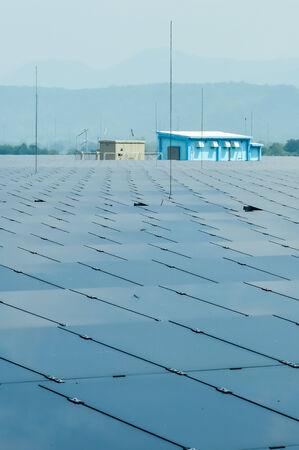 renewal: The renewal enregy from solarfarm at Lopburi Thailand