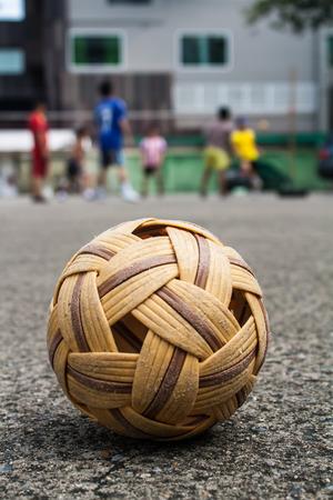 Sepaktakraw, the popular sport of southeast asia