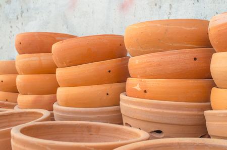 sunday market: La maceta de arcilla cocida en el mercado Domingo