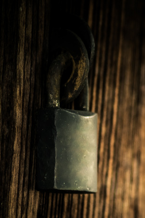 master key: The master key at the old wood door