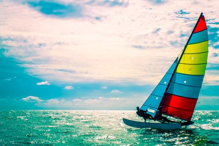 voile: Le voilier, Enjoy activité en été