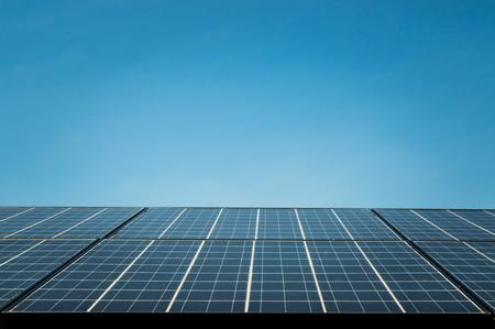 solar cell, the energy from the sun