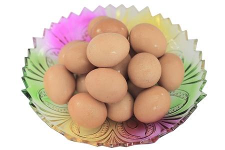 egg in plate