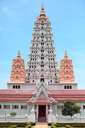 Buddhist pagoda in Thailand Stock Photo