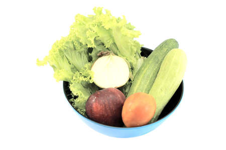 flash salad Stock Photo