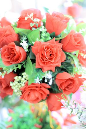 A bouquet of roses Stock Photo