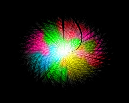 color wave background Stock Photo
