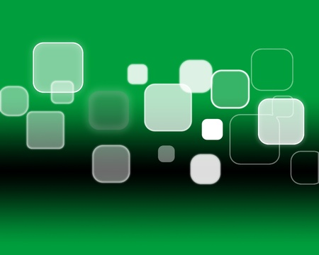 business green icon background Stock Photo