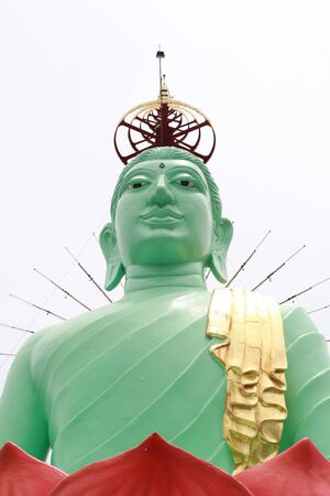 big jade buddha Stock Photo - 13515273