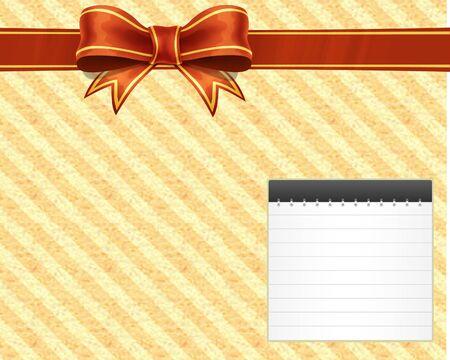 nota postal de la cinta