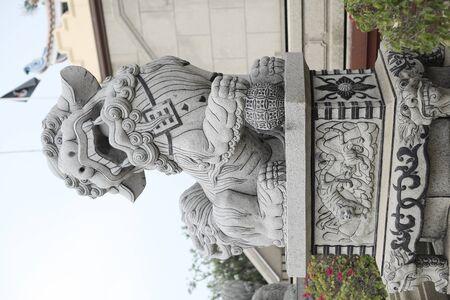 China marble lion Stock Photo - 13996551