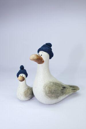 duo duck Stock Photo