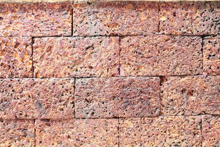 ancient outdoor brick courtyard background
