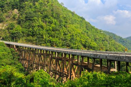generic location: bridge in Petchabun, Thailand