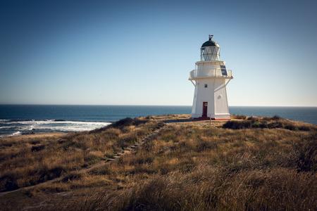 newzealand: Historic Lighthouse at Waipapa Point, Catlins, New Zealand