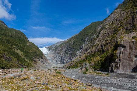 franz josef: Franz Josef Glacier, New Zealand Stock Photo