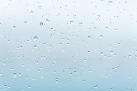 Gocce di pioggia sulla finestra di vetro Archivio Fotografico - 42524227