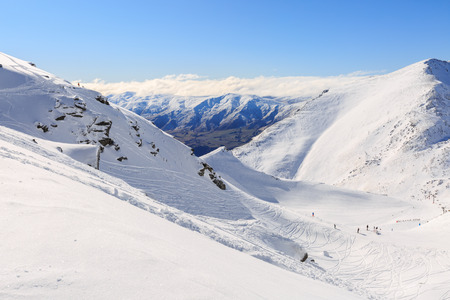Ski Area: The Remarkables Ski Area Queenstown New Zealand