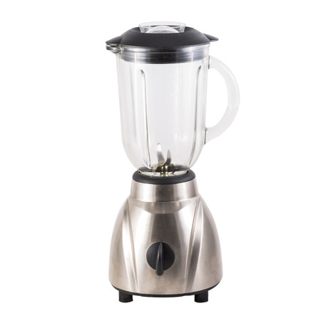 Elektrischen Mixer isoliert auf weißem Hintergrund Standard-Bild - 43865929