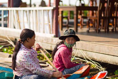 sap: TONLE SAP LAKE SIEM REAP, CAMBODIA - JANUARY 10: Cambodian people live on Tonle Sap Lake on January 10, 2012 at Tonle Sap Lake, Siem Reap Cambodia.