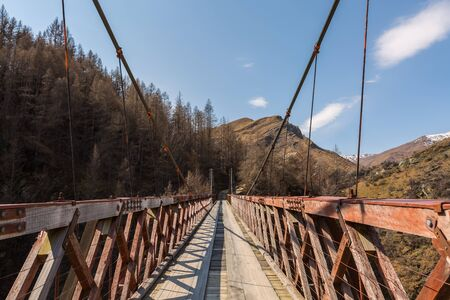 coronet: Skippers Bridge in Skippers Canyon, Queenstown, New Zealand