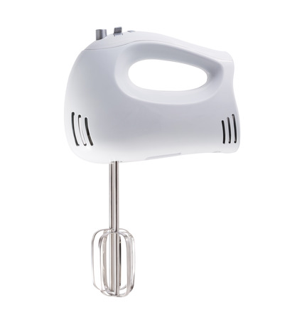 hand mixer isolated on white Stok Fotoğraf - 47800520