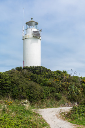 south island new zealand: Cape Foulwind lighthouse, South Island, New Zealand