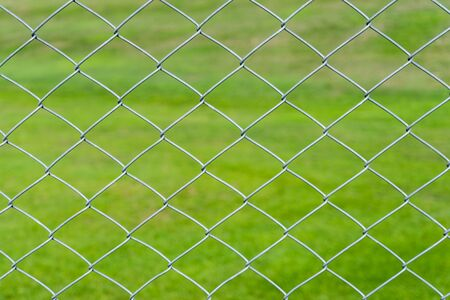 wire mesh: wire mesh with green background Stock Photo