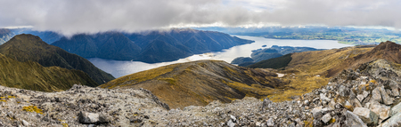 kepler: Panoramic view of Kepler Track from Mount Luxmore summit