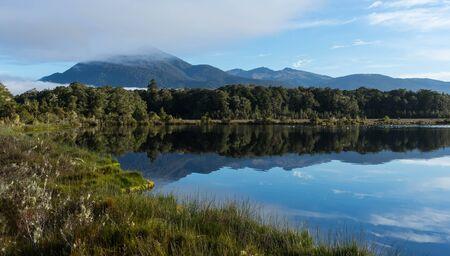 kepler: Spirit lake at Kepler track Stock Photo