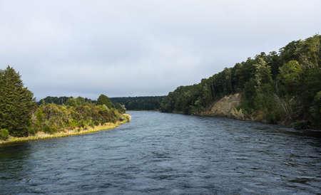 kepler: Waiau river along Kepler track in Te Anau, New Zealand