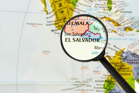 mapa de el salvador: Mapa de la Rep�blica de El Salvador a trav�s de la lupa