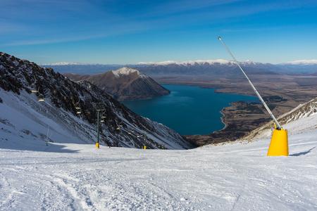 Majestic view of Snow Fields