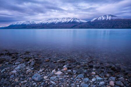 Blick auf schönen See Standard-Bild - 68447525