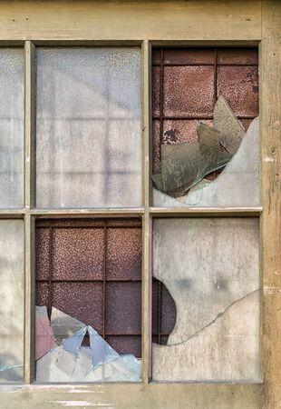 Texture of old cracked window Stok Fotoğraf