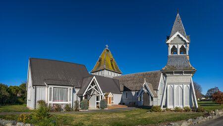 St. Augustines Kirche in Waimate, Neuseeland Standard-Bild - 68742747