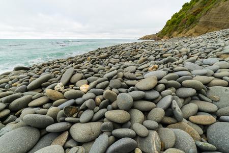 Kap Wanwbrow in Oamaru, Neuseeland Standard-Bild - 68742707