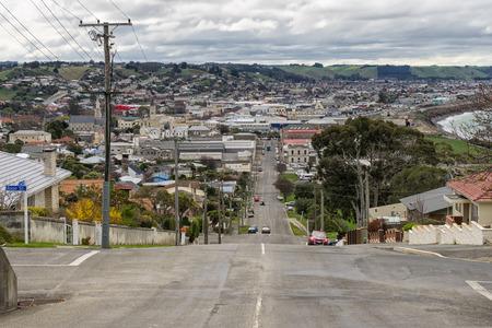 Oamaru cityscape, Isla Sur, Nueva Zelanda Foto de archivo - 68742721