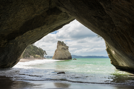 Cathedral Cove, Coromandel Peninsula, North Island, New Zealand