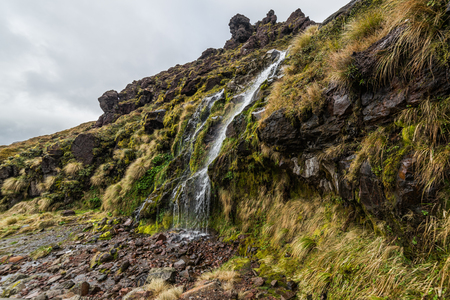 Soda Springs in Tongariro national park, New Zealand