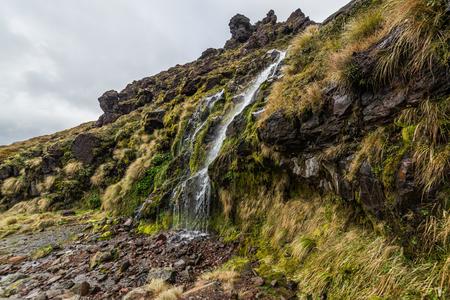Soda Springs in Tongariro Nationalpark, Neuseeland Standard-Bild - 70250253
