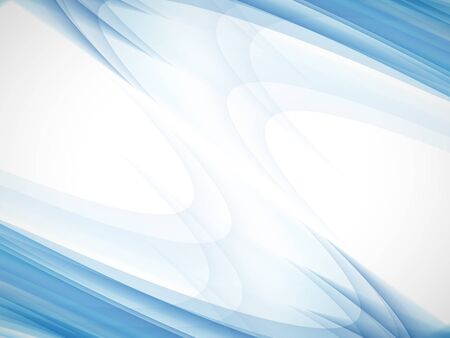 digitally generated image: Blue Abstract business Background Illustration
